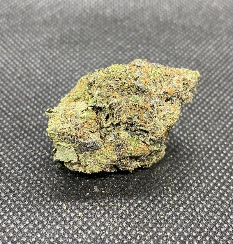 Weed strain nug showing EL JEFE strain